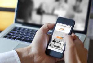 responsiv mobiltilpasset nettside