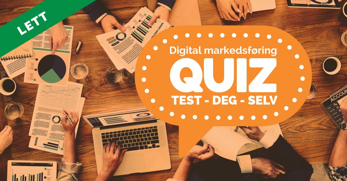 quiz digital markedsføring