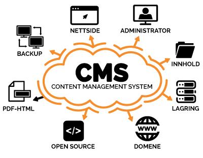 wordpress nettbutikk nettside cms content management system
